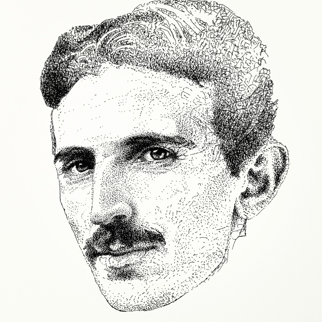 Nikola Tesla Wallpapers 35 Wallpapers: MYSTIK MASK ART
